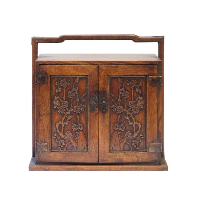 Chinese Rosewood Jewelry Box - Image 1 of 6