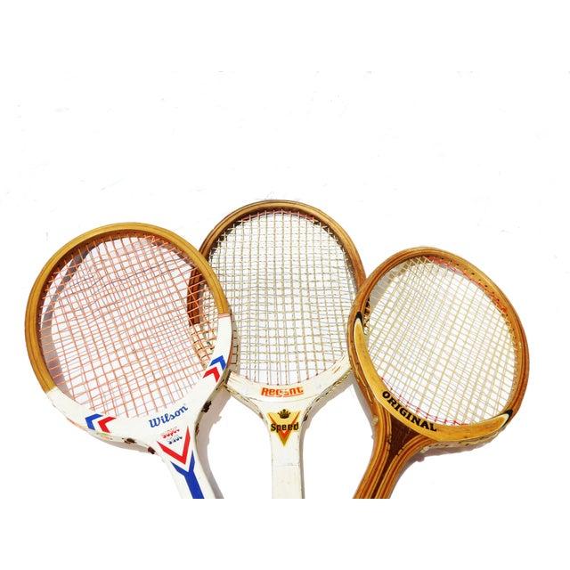 Vintage Wilson & Regent & Original Mid-Century Tennis Rackets - Set of 3 - Image 3 of 3
