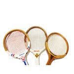 Image of Vintage Wilson & Regent & Original Mid-Century Tennis Rackets - Set of 3