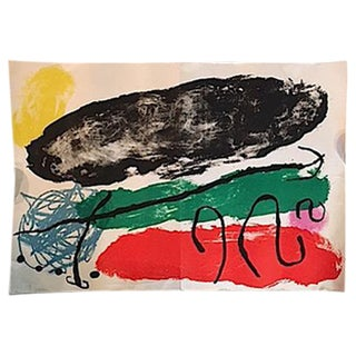Original Vintage Joan Miro Poster