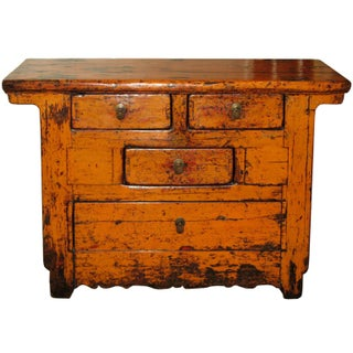 C. 1890 Shanxi Orange Chest
