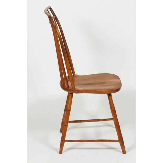 Windsor Chairs With Pinned Backs - A Pair - Image 4 of 6
