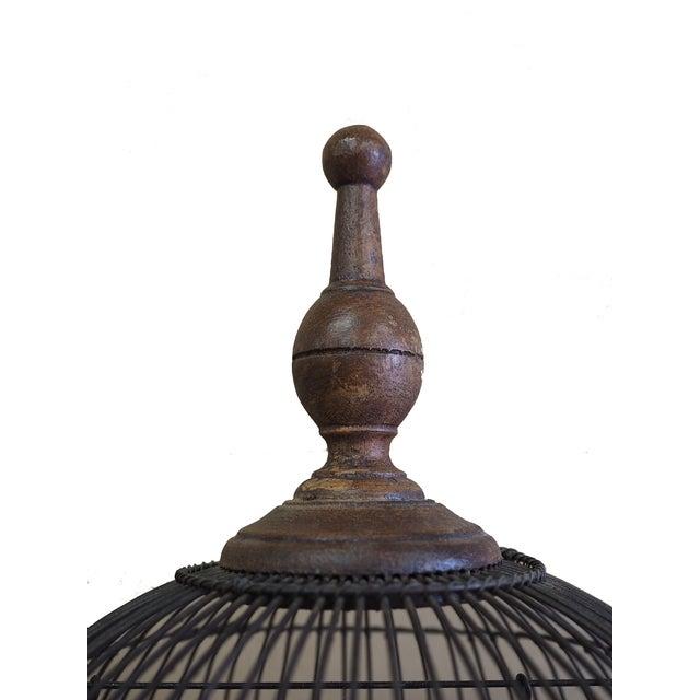 Antique 19th Century Victorian Cupola Bird Cage - Image 7 of 7