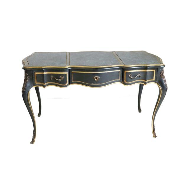 Louis XV Style Bureau Plat Writing Desk - Image 1 of 6