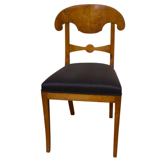 Biedermeier Dining Chairs - Set of 4 - Image 1 of 6
