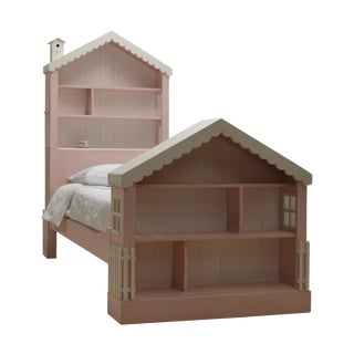 Cottage Dollhouse Twin Bed
