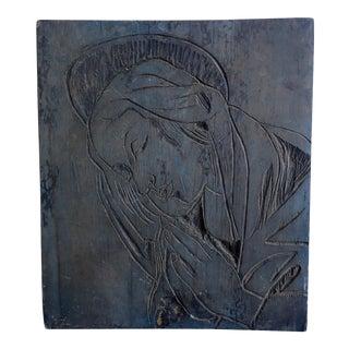 Sante Graziani Spiritual Devotional Wood Carving