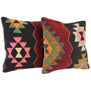 Kilim Pillow Covers - A Pair