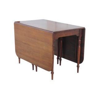 Neoclassical Style Gateleg Table