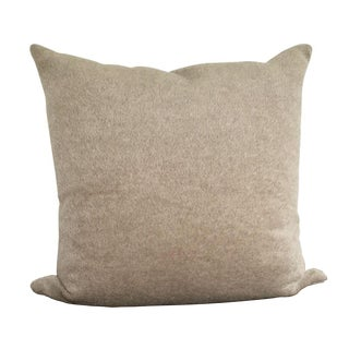 Mushroom Alpaca & Wool Pillow
