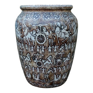 Chinese Oriental Stone Carved Planter