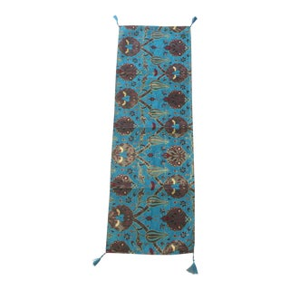 "Authentic Turkish Motif 54""x 18.5"" Table Runner"