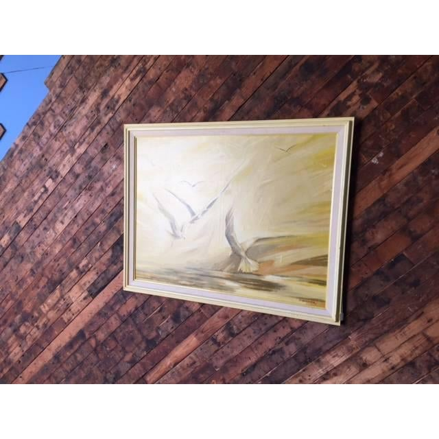 Vintage Large Bird Painting by B. Buckner - Image 3 of 5