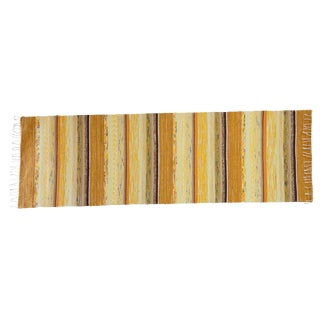 "Swedish Handwoven Rug - 8'1"" X 2'5"""