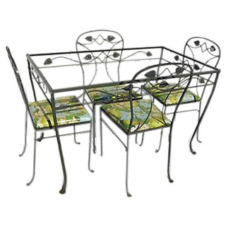 French Country Style Garden/Patio Dining Set