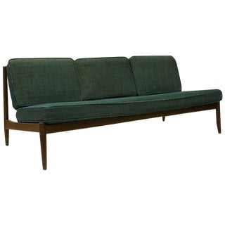1950s Danish Armless Sofa by Dux