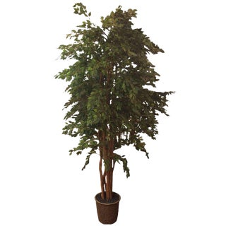 Very Tall Life like Silk Faux Ficus Tree