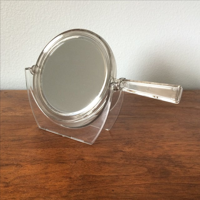 Vintage 2-Sided Hand Mirror - Image 2 of 11