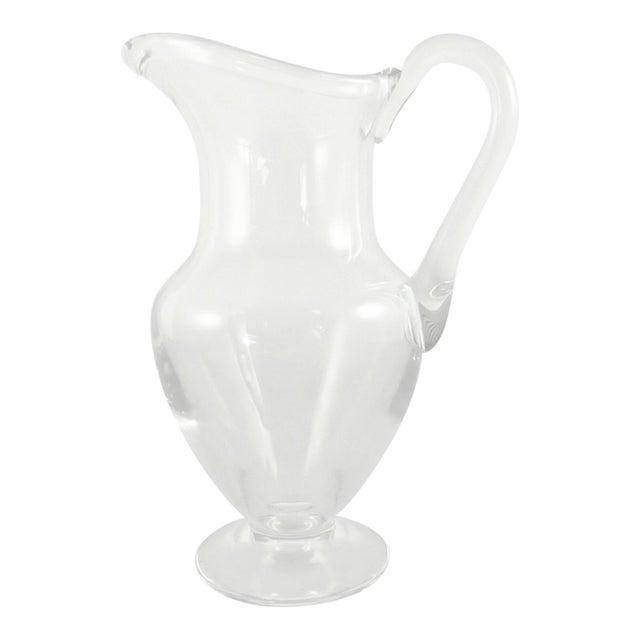 """Saint Louis """"Bizet"""" Crystal Water Jug - Image 1 of 2"""