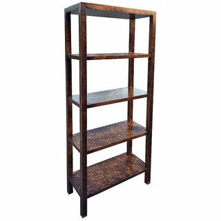 Faux Tortoise Shell Etagere by Lane