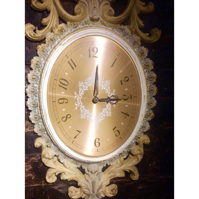Wall Clock and Candle Sconces - Set of 3 - Image 7 of 7