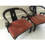 Image of Century Chinoiserie Ming Chairs - A Pair