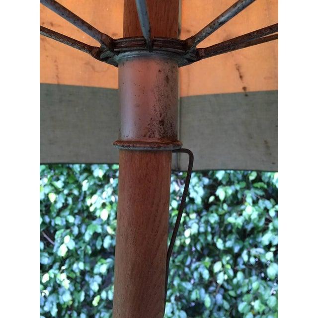 Vintage Canvas Umbrella - Image 4 of 8