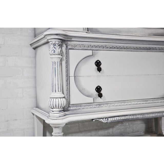 Image of Jennifer Vitalia Design Hand Painted Jacobean Hutch