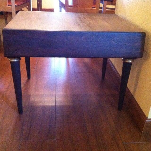 American Of Martinsville Mid Century Coffee Table: American Of Martinsville Mid-Century Side Table
