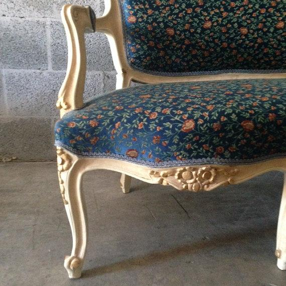 French Settee, Louis XVI Style - Image 4 of 5