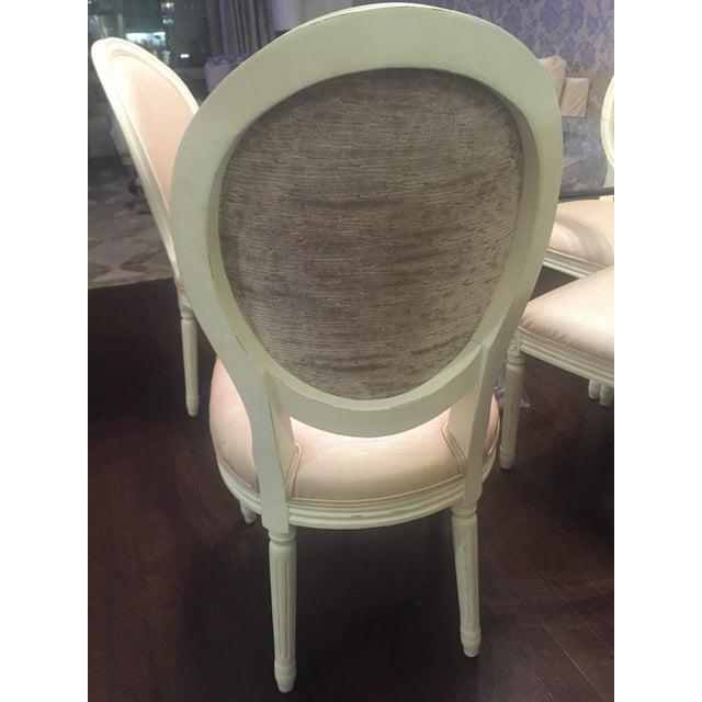 restoration hardware round dining chair chairish