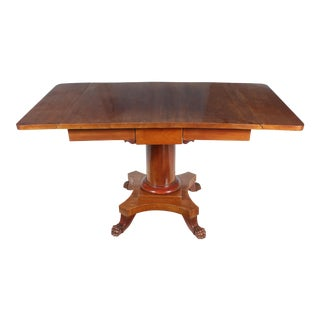 19th-C. Empire-Style Table