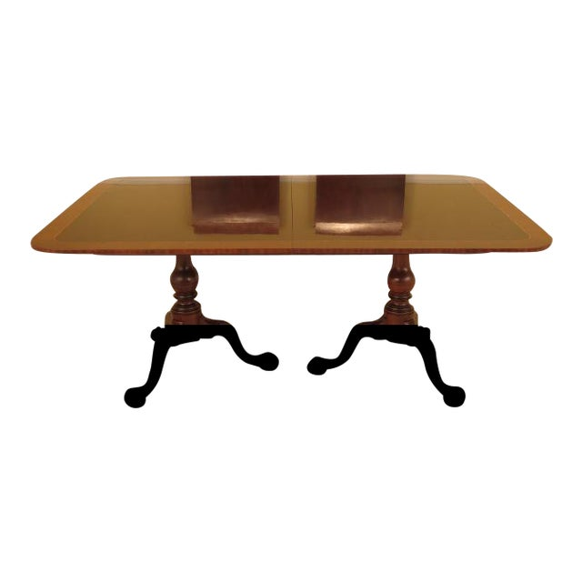 Stickley Dining Room: Stickley Colonial WIlliamsburg Mahogany Dining Room Table