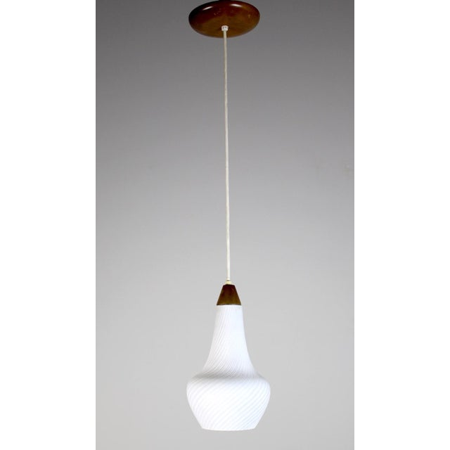 A Pair of Mid Century Pendant Lights - Image 2 of 8