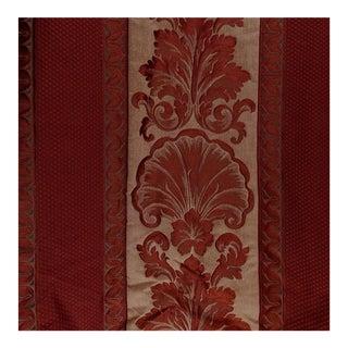 Vintage Deep Burgundy Upholstery Damask - 6 Yards