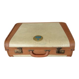 Vintage Brown Cheney Suitcase