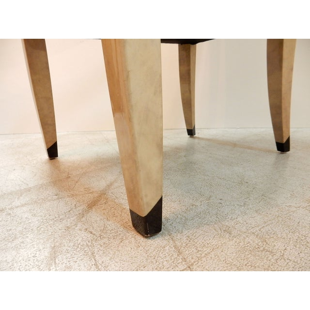 Donghia Goatskin Arm Chairs - Pair - Image 7 of 7