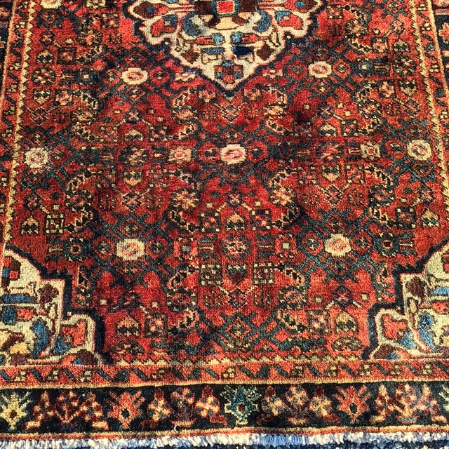Image of Hoseinabad Persian Rug - 3′ × 5′1″