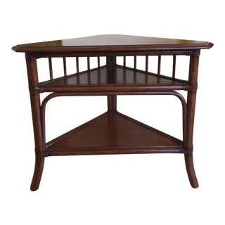 Ethan Allen Fiji Corner Table