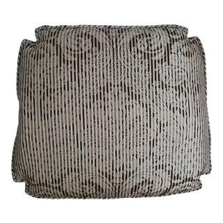 Damask Floral Stripe Cushion