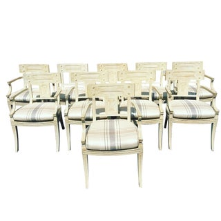 Michael Taylor Klismos Chairs - Set of 10