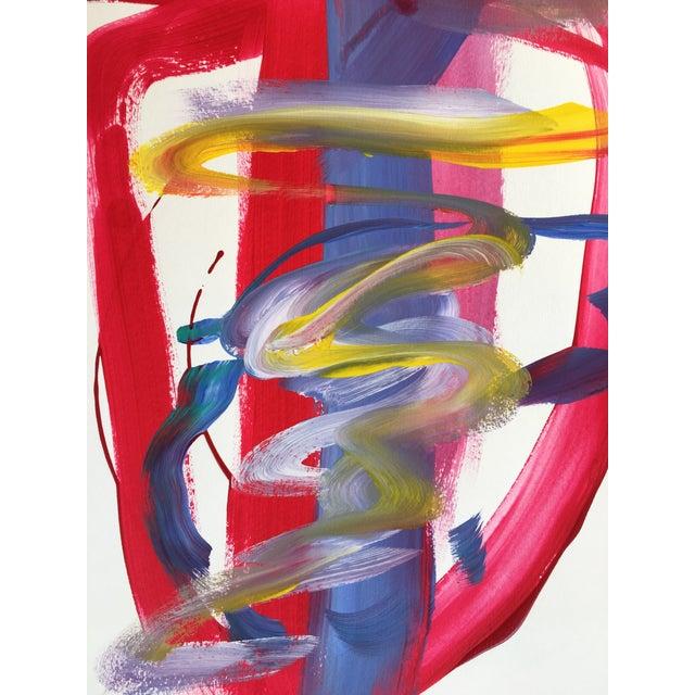 "Jessalin Beutler ""No. 139"" Original Painting - Image 4 of 5"