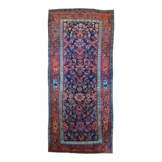 "Hand Knotted Persian Bidjar Long Rug - 51"" x 114"""