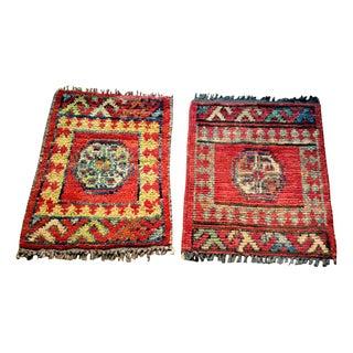 "Afghani Prayer Rugs - 10"" x 1' 1"""