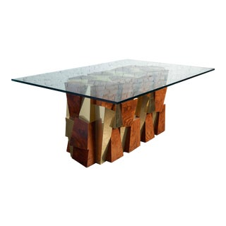Paul Evans Faceted Cityscape Table