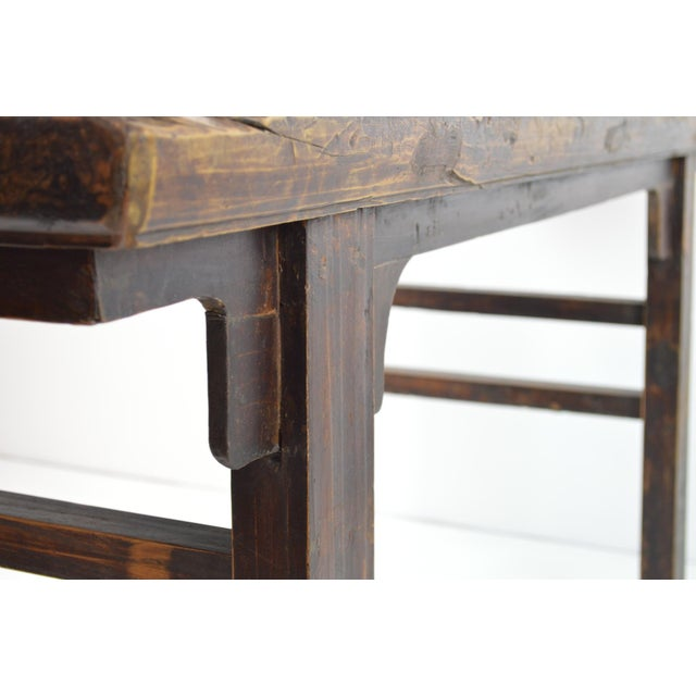 Rustic Antique Chinese Console Table - Image 9 of 10