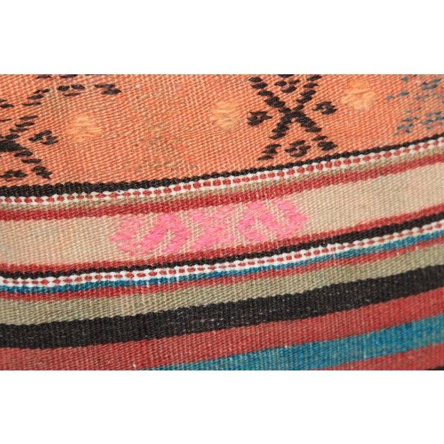 Turkish Handmade Kilim Pillow Cover - Image 8 of 8