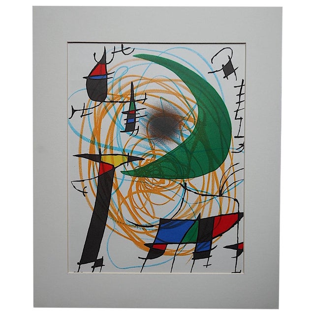 Vintage Ltd. Ed. Joan Miro Lithograph - Image 1 of 4
