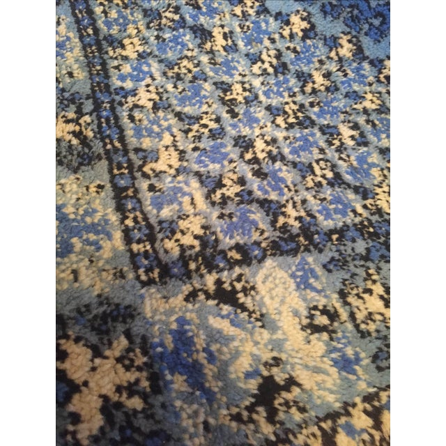 Large Blue Moroccan Rug - 4' x 6' - Image 9 of 9