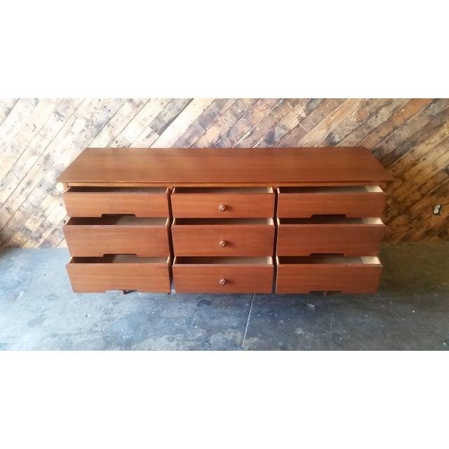 9-Drawer Mid-Century Dresser - Image 5 of 6